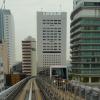 Токио. Линия поездов без водителей Юрикамомэ